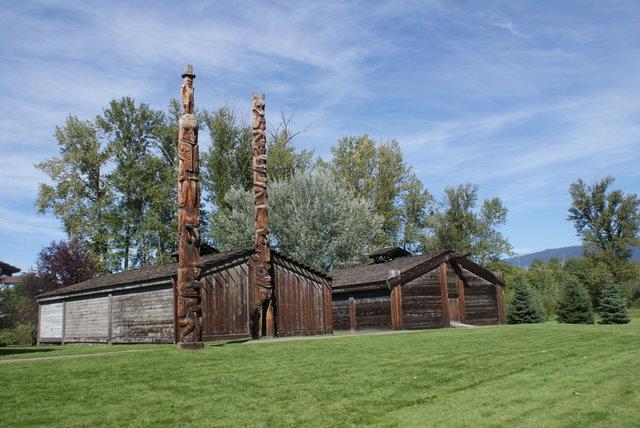 Ksan, New Hazelton, Columbia Britànica, Oest del Canadà
